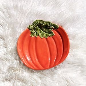 Better Homes and Gardens Orange Pumpkin Platter